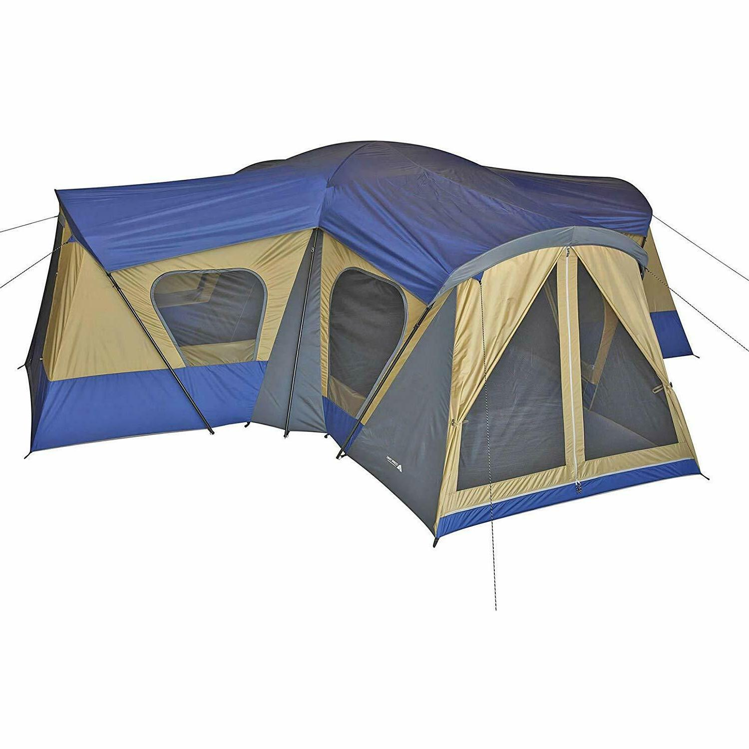 Family Tent Person Rooms Hiking Outdoor