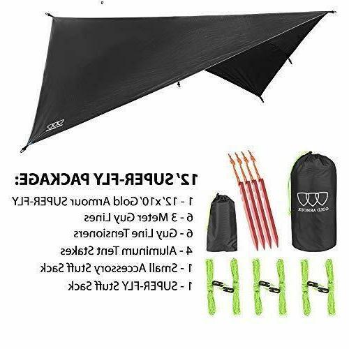Fly Camping Tarp Backpacking