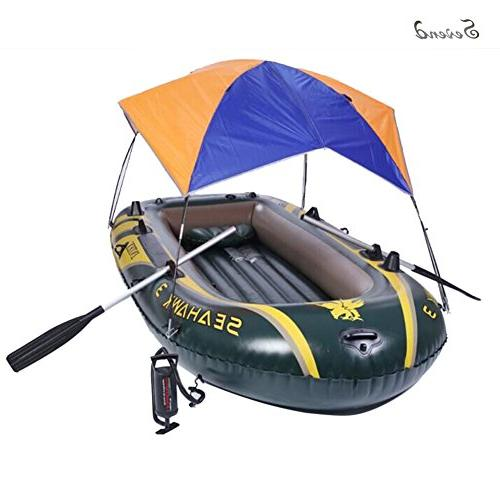 Foldable Awning for Intex Seahawk 3 Inflatable Bo