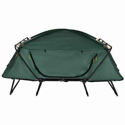 Folding 2 Person Camping Tent Hiking Outdoor w Bag