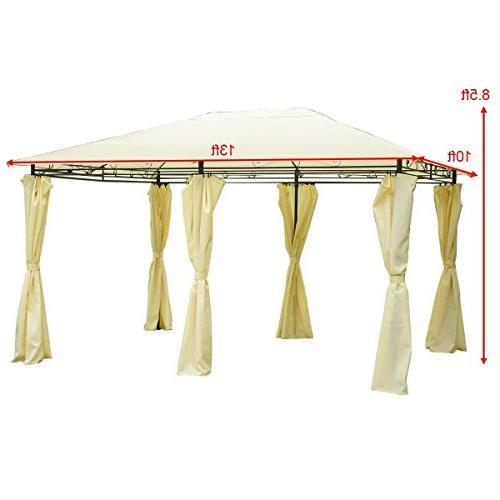 COSTWAY Gazebo Canopy Tent