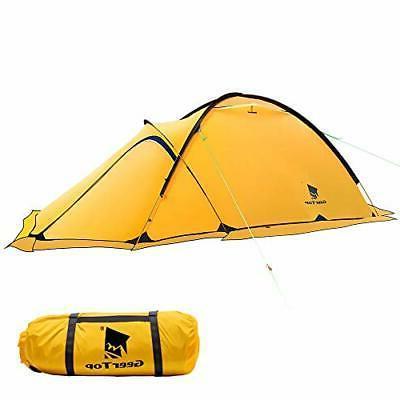 GEERTOP Portable 2 Person 4 Season Tent Waterproof Backpacki
