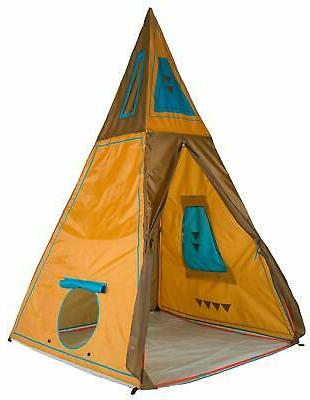 Pacific Play Tents 30610 Kids Giant Tee Pee Tent Playhouse,
