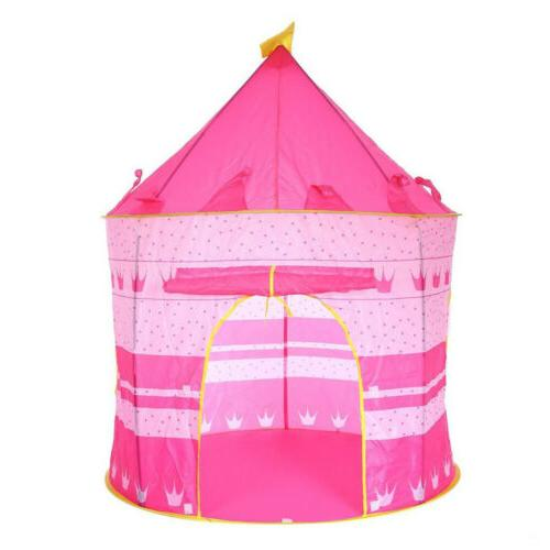 Princess Castle Pink Outdoors Tent Playhut Tunnel Girls cast