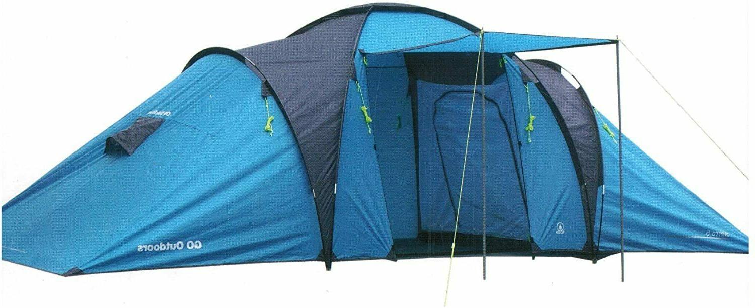 go outdoor 2 room family tent suitable