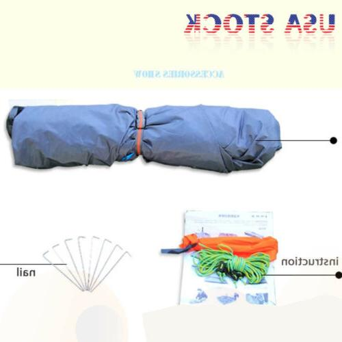 Hydraulic Self Up Double Layer Camping 3-4 Automatic