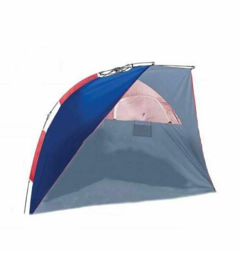 instant cabana half tent for two upf