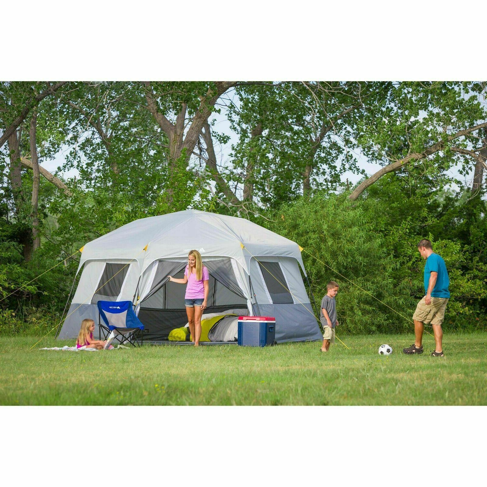 Instant Cabin Set Up 8 Outdoor Camping Shelter