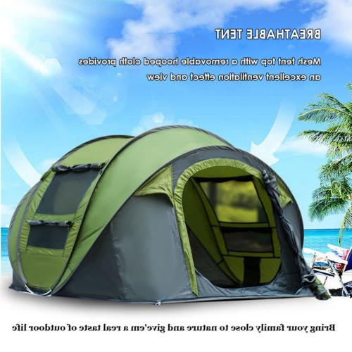 Instant Up Tent 4-5 Waterproof Backpacking Tent