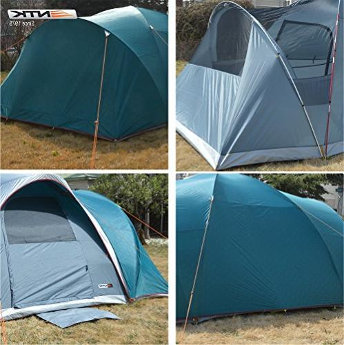 NTK 12.8FT 6.9FT Height, Camping Waterproof 2500mm, Extra Easy Assembly.