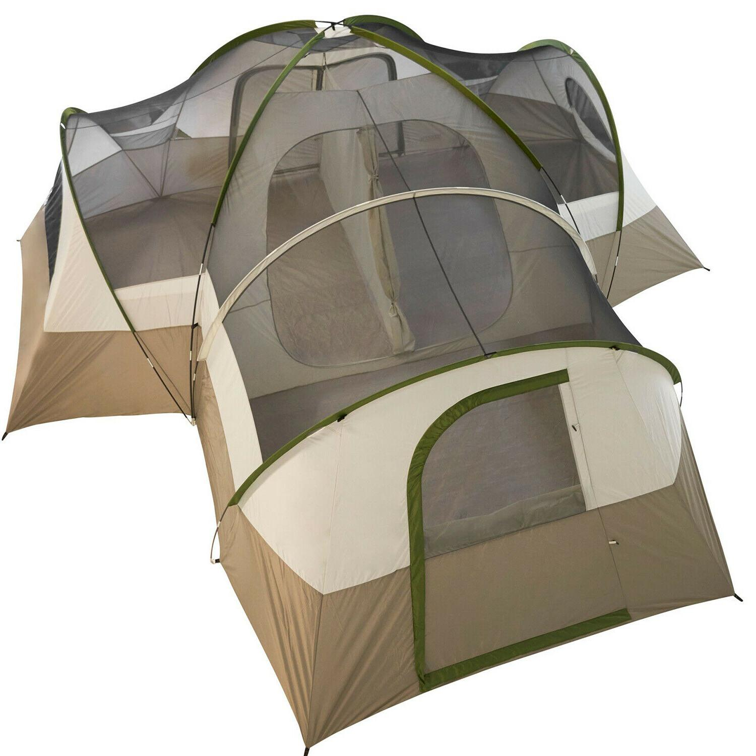 Large 16 Person Family Dome Camping Tent Outdoor Hiking Shel