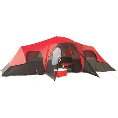 family camping tent 10 person outdoor cabin