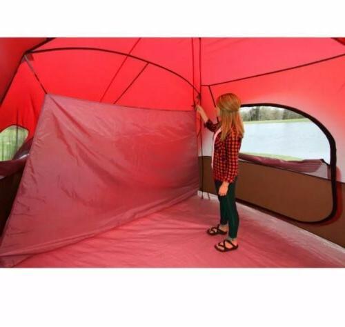 Large Tent Camping Ozark Trail 3 Room 10 Waterproof