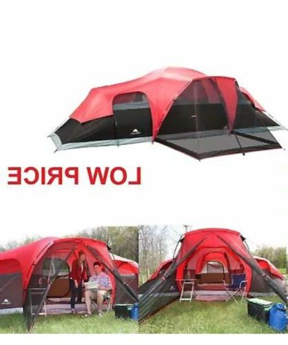 large tent camping outdoor 3 room 10