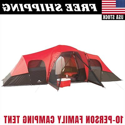 large tent camping outdoor ozark trail 3