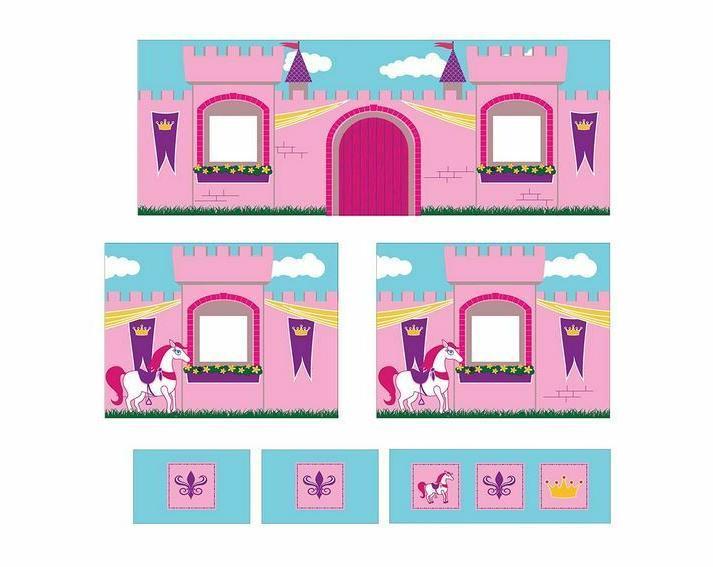 Loft Pink Tent Slide Low Twin Junior
