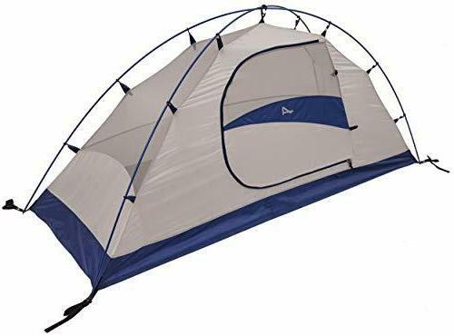lynx 1 person tent gray navy