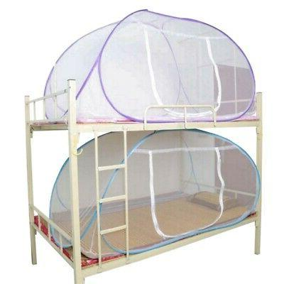 Mosquito Net Foldbale Bed Free Standing Tent Single Door Net