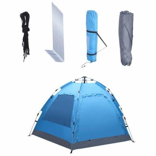 New 3-4 Person Layer Instant Tent Auto