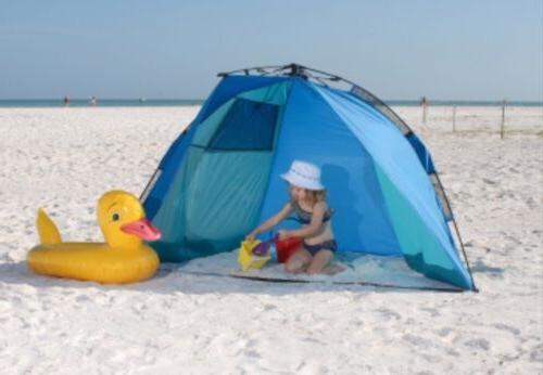 new rapido cabana portable beach shelter pop