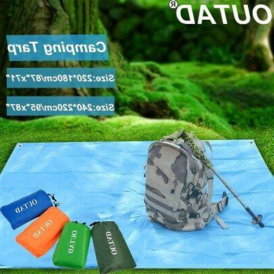 OUTAD Waterproof Camping Tarps Mutifunctional Tent Footprint