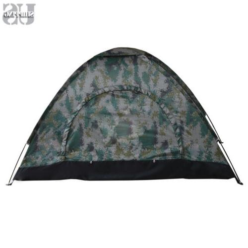 Outdoor Season Camping Hiking Folding Tent Camouflage