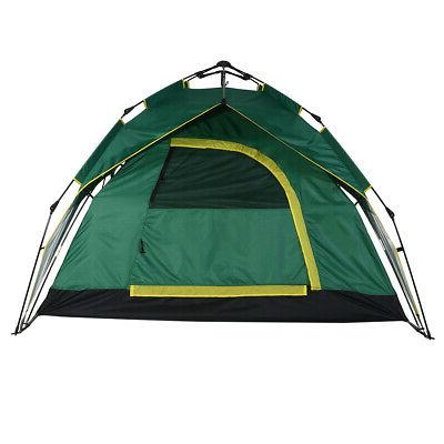Outdoor Waterproof Person Tent Hiking Family Travel