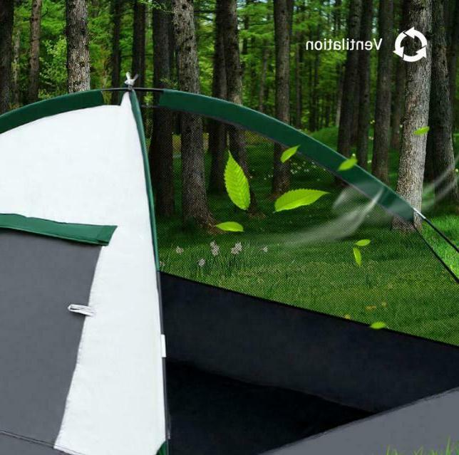 3-4 Person Tent Waterproof Hiking Outdoor Sun Canopy
