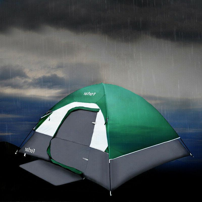 3-4 Camping Tent Waterproof Traveling Hiking Outdoor