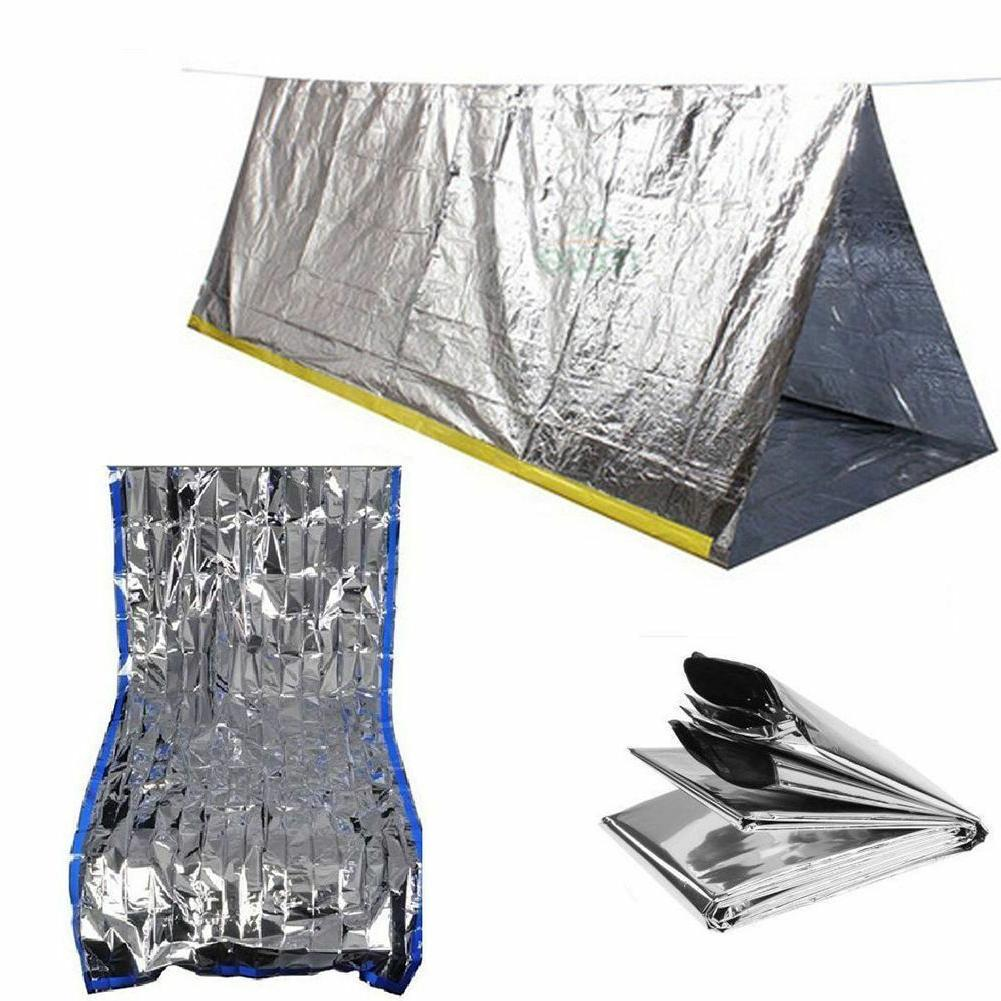 outdoor emergency tent blanket sleeping bag survival