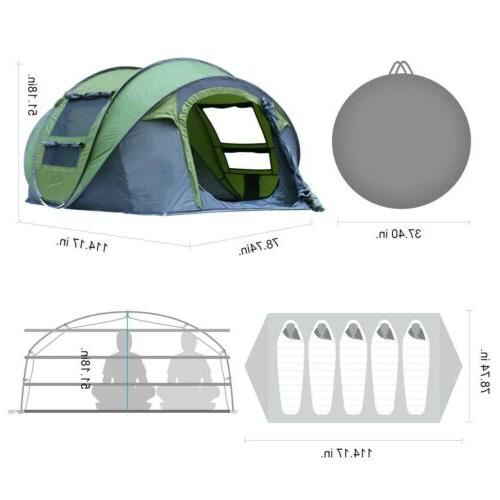 Outdoor Instant Pop Up Dome Auto