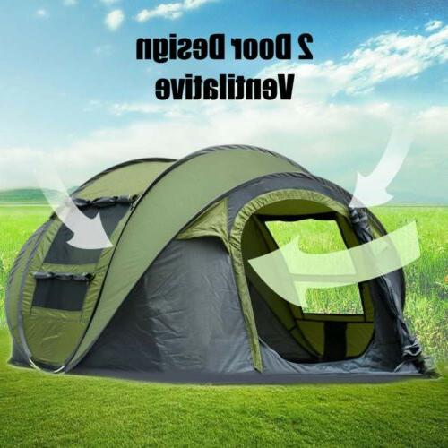 Outdoor 3-4 Pop Up Auto Set up Family Camping Hiking