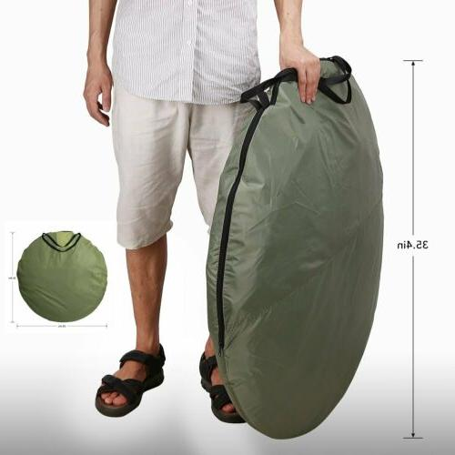 Outdoor Instant 3-4 Pop Up Tent Auto Set up Family Camping Hiking