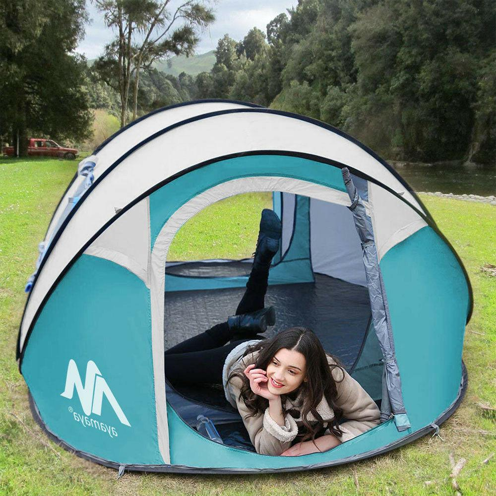 Outdoor Pop Up Dome Auto Family Camping Hiking