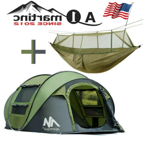 outdoor portable hammock 4 person camping tent