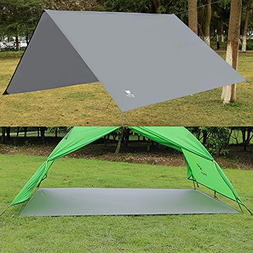 Geertop Oxford Fabric Men Ground Tent Mat Waterproof Camping Hiking