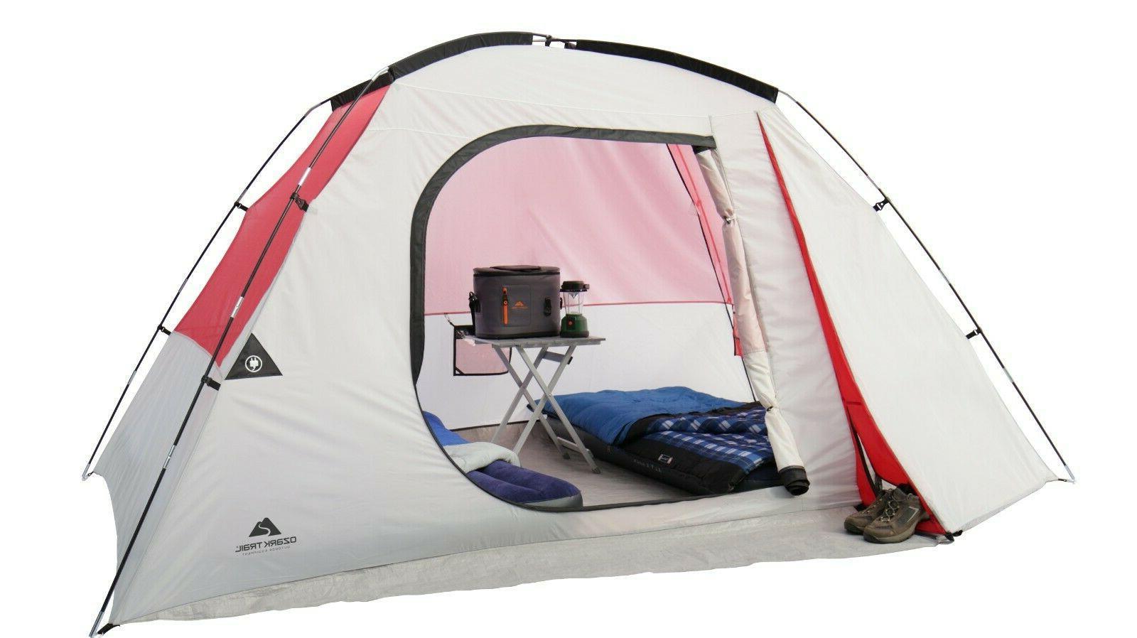 Ozark Trail 6 Person Dome Camping Tent, perfect