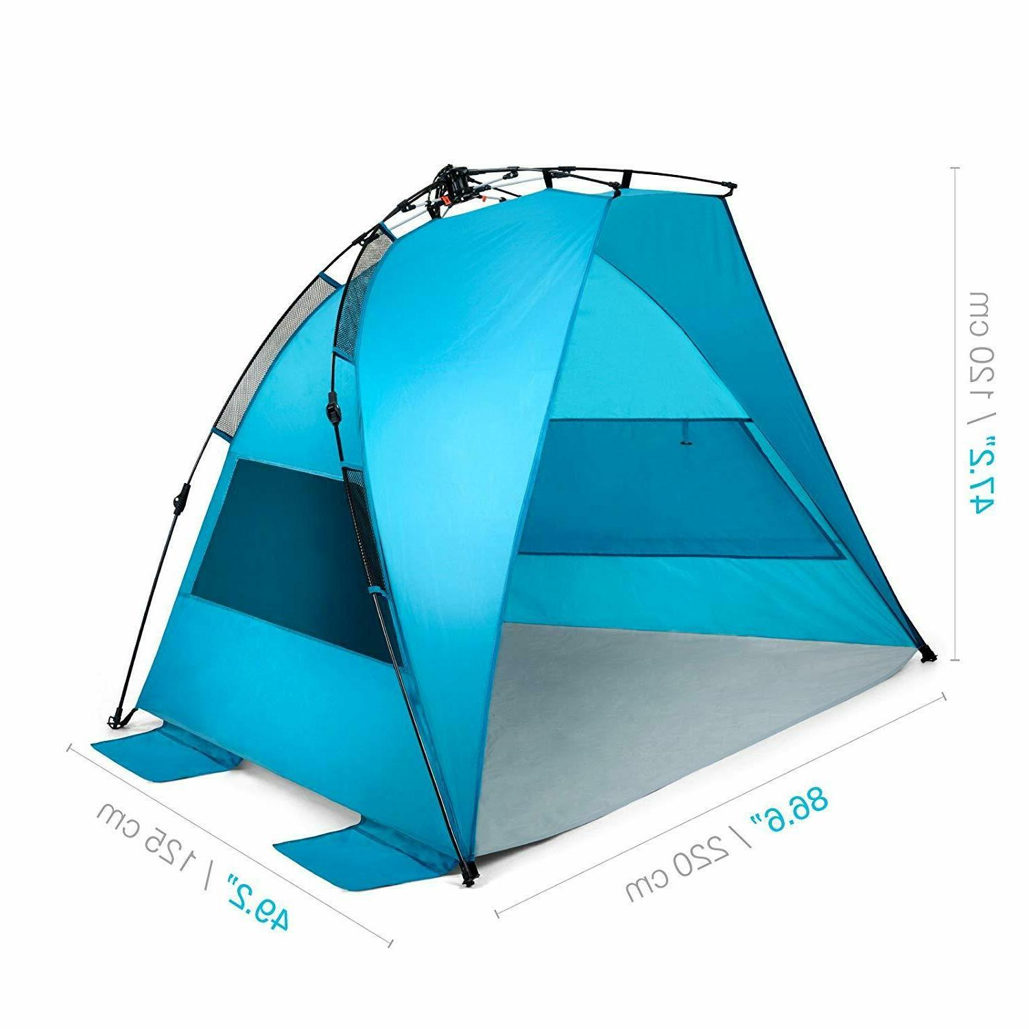 Portable Automatic Up Kids Beach Tents Outdoor UV Shade