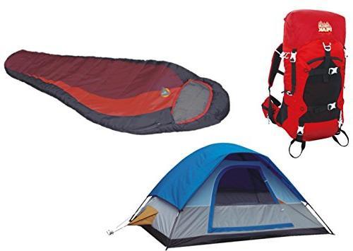 peak usa 5 tent hiking