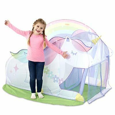 Basic Fun Playhut Hut Pop-Up for Indoor or Play-Great