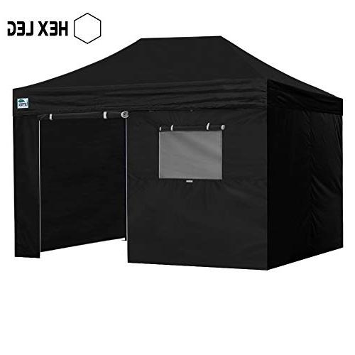 uk availability 953b4 86903 Eurmax Premium 10x15 Pop up Canopy W/4 Walls