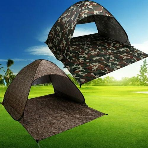 Pop Up Sun Shelter Camping Hiking 2-3 2 Color