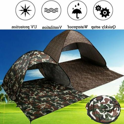 Pop Up Sun Shade Shelter Hiking Canopy 2