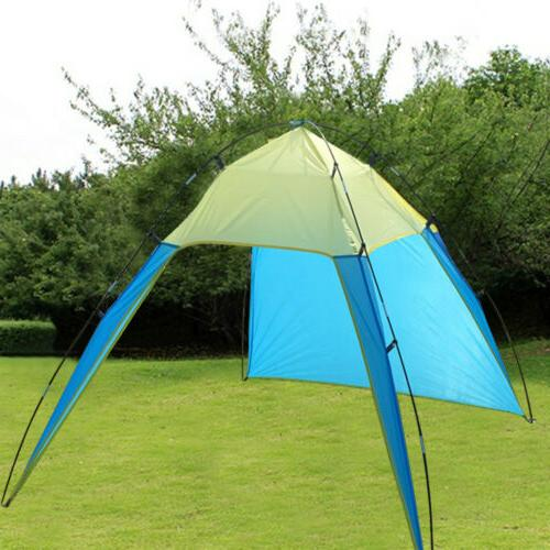 Pop Up Beach Sun Shade Patchwork Outdoor Camping Canopy Shelter