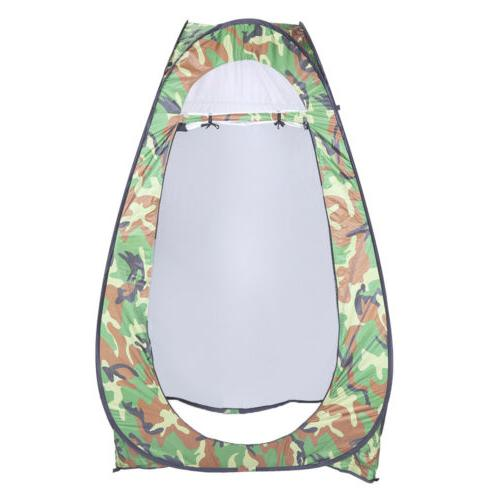 Shower Tent Portable Toilet Pop Up Camping Outdoor Privacy D
