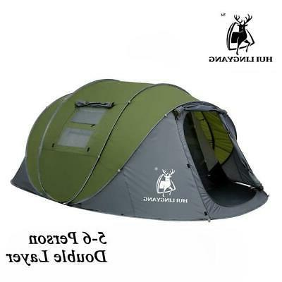 Pop Person tent waterproof hiking