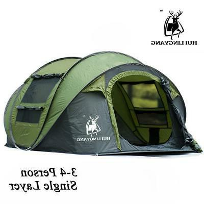 Pop up Person waterproof camping tent