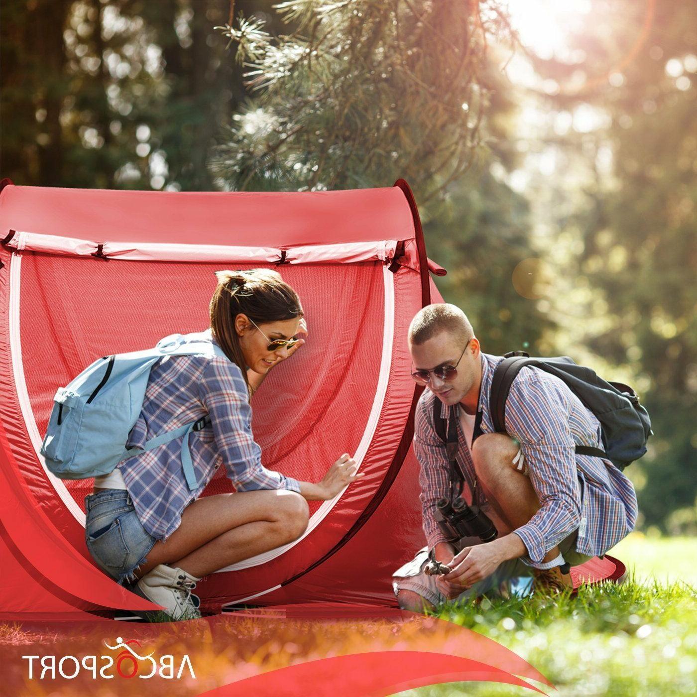 Pop-up Tent Automatic Instant Cabana Tent - Suitable 2