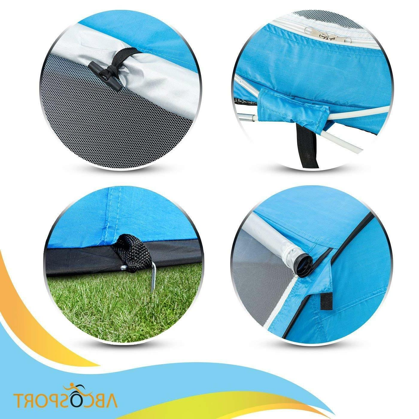 Pop-up Instant Portable Beach Tent - Suitable for 2