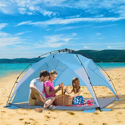 portable automatic pop up kids beach tents